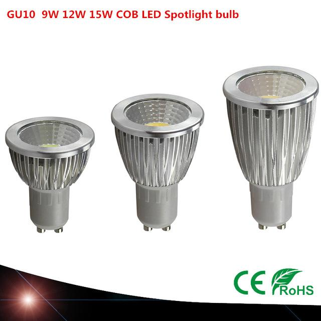 Cob Warmcool Dimmable 9w Gu10 Lamp Ultra White 85~265v 12w 10pcs Spotlight Cerohs Bright Led Bulbs 15w zSqMpGUV