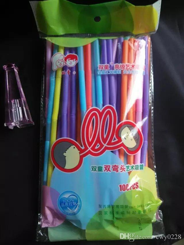 Plastic Straw ,Wholesale Glass bongs Oil Burner Pipes Water Pipes Glass Pipe Oil Rigs Smoking,