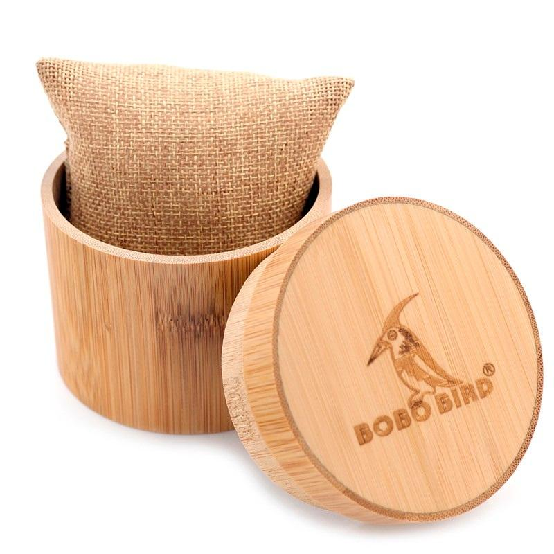 Bobo Bird Watches Bamboo Case Watches Cases Wooden Gifts Round Boxes Jewelry Boxes Gift Customized Dropshipping