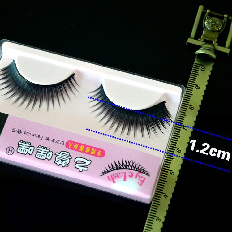 Direct Taiwan Good Hand Hade Grafted Eyelashes False Eyelashes 072 Thick Cross Nude Make-up 1 lot =10 pairs
