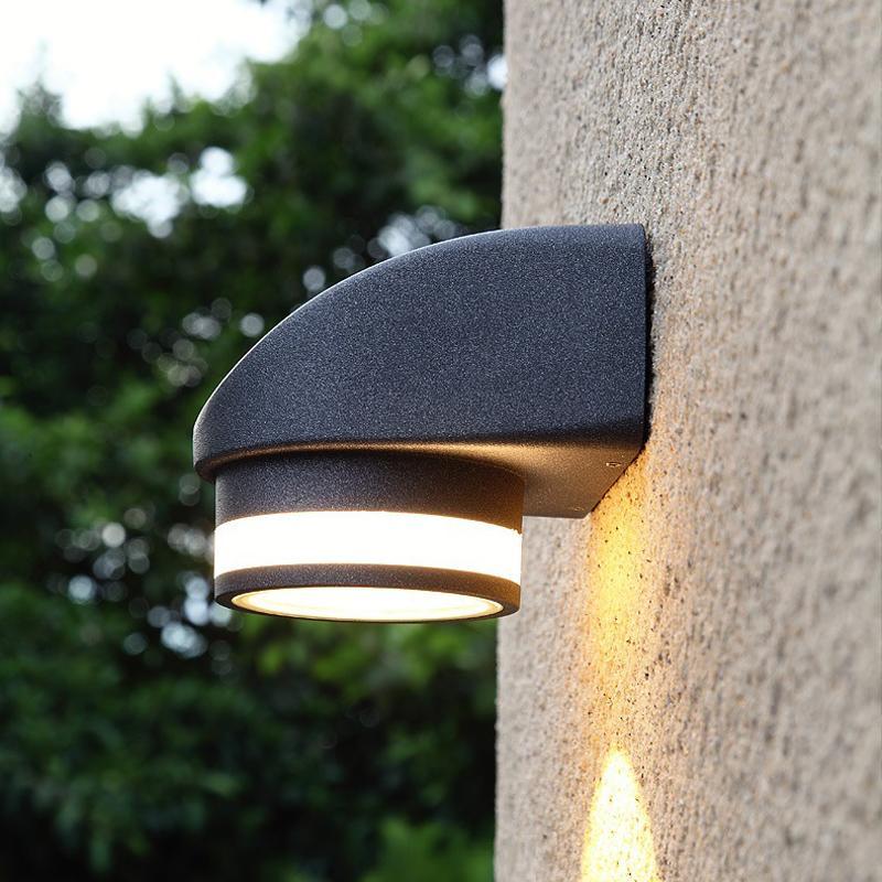 84dc3b7ae Compre 5W LED Al Aire Libre Luces Led Impermeables Pared Exterior Exterior  Luces Lámpara Novedad Aseo Noche A $34.38 Del Geylight6 | DHgate.Com