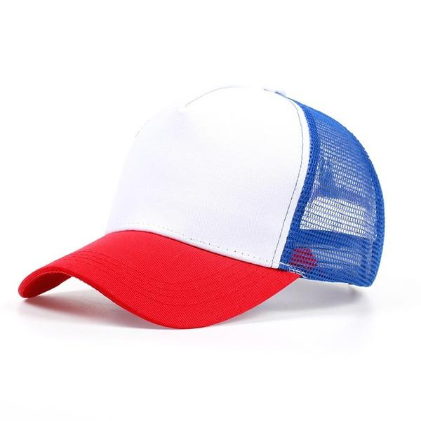 Stranger Things Dustin Baseball Cap Hat 100%Copy Cosplay Coser Dustin  Summer Snapback Mesh Net Trucker Hat Cap Men Flat Caps For Men Womens Baseball  Hats ... e695f93f52f8