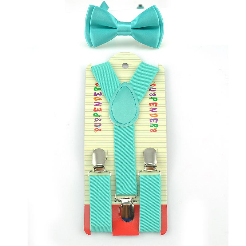 3b8235b08a664 Bow Tie   Elastic Suspenders Set Y-Shape Braces Butterfly Sets ...