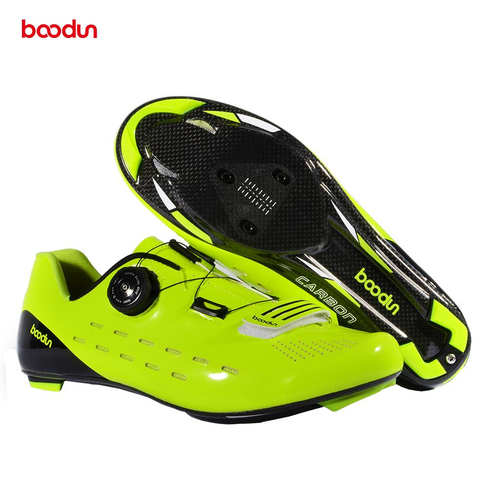 71cbfdfe1ab Boodun Ultralight 440g pair Road Bike Outdoor Sports Shoes Self-Locking New Bicycle  Shoes Road Cycling Bike Race MTB Cycling Shoes Cheap Cycling Shoes ...