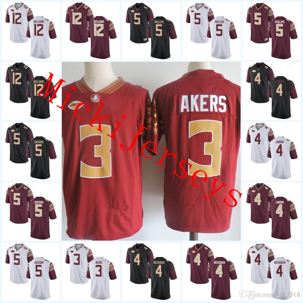 37189f6c40c 2019 NCAA Florida State Seminoles Cam Akers Jerseys Stitched Arthur  Williams Dontavious Jackson Tarvarus McFadden Da'Vante Phillips FSU Jersey  From Xt23518, ...