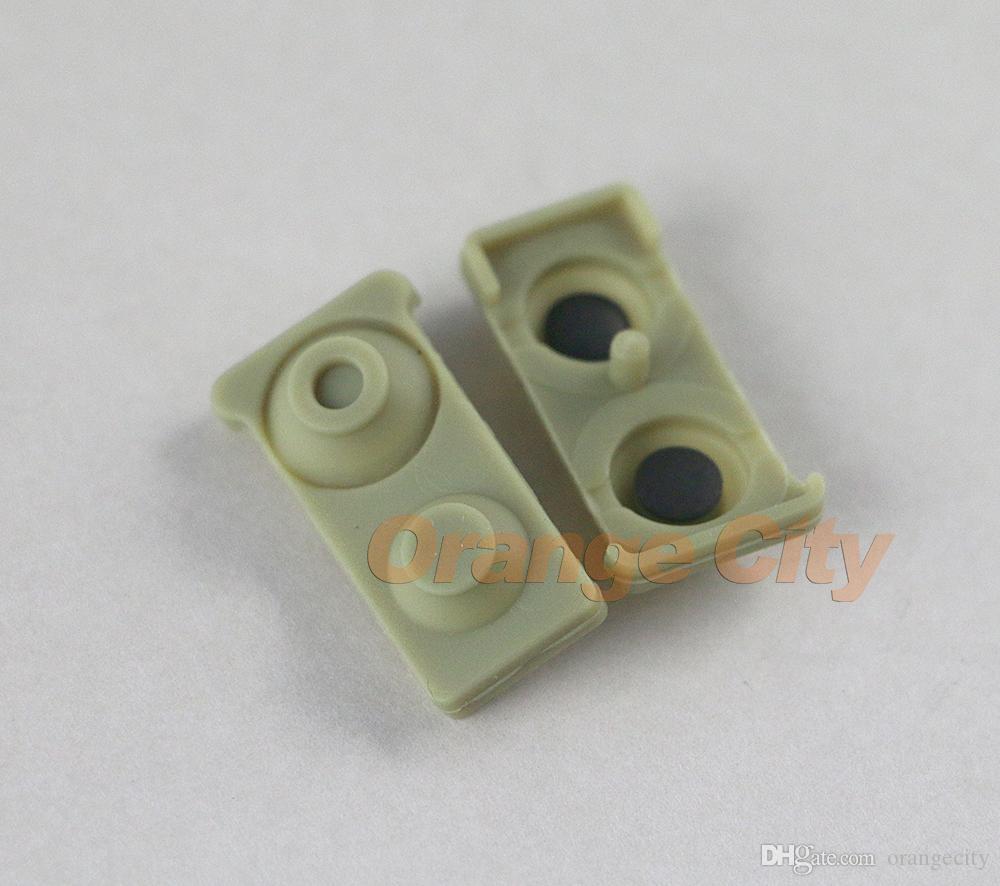 الأخضر الكهربائية موصل إجراء سيليكون المطاط L1R1 L2R2 أزرار ل PS3 المراقب joypad إصلاح أجزاء