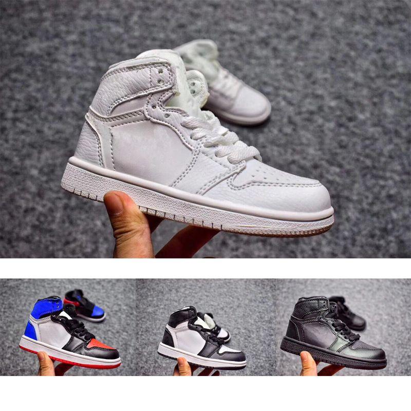 sports shoes 6d2c1 06ffa Acheter Nike Air Jordan 1 3 12 Retro Enfants 11 11s Space Jam Bred Concord  Gym Chaussures De Basket Ball Rouge Enfants Garçon Filles 11s Marine Minuit  ...