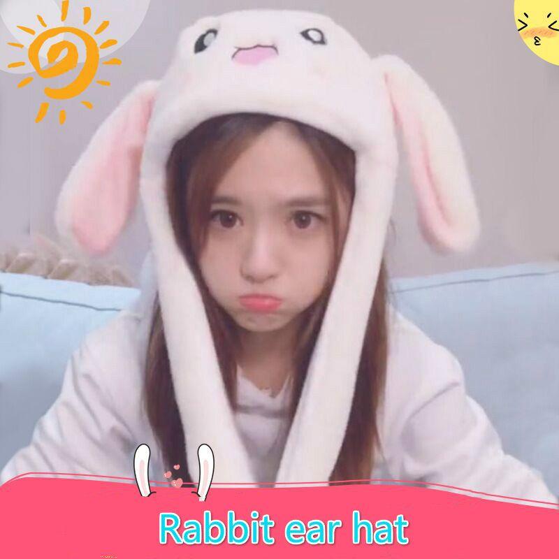 a22b9cd895e 2019 Kpop BTS Same Paragraph Rabbit Ears Hat 2018 Korean Network Red Same  Paragraph Rabbit Hat Ears Plush Sweet Cute Girl From Qingfengxu