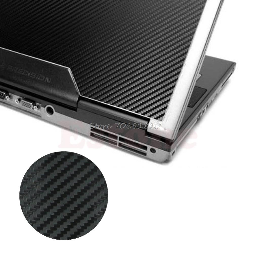 3D Carbon Fibre Skin Cover Decal Wrap Sticker Case For 17 Laptop Notebook  PC Drop Shipping