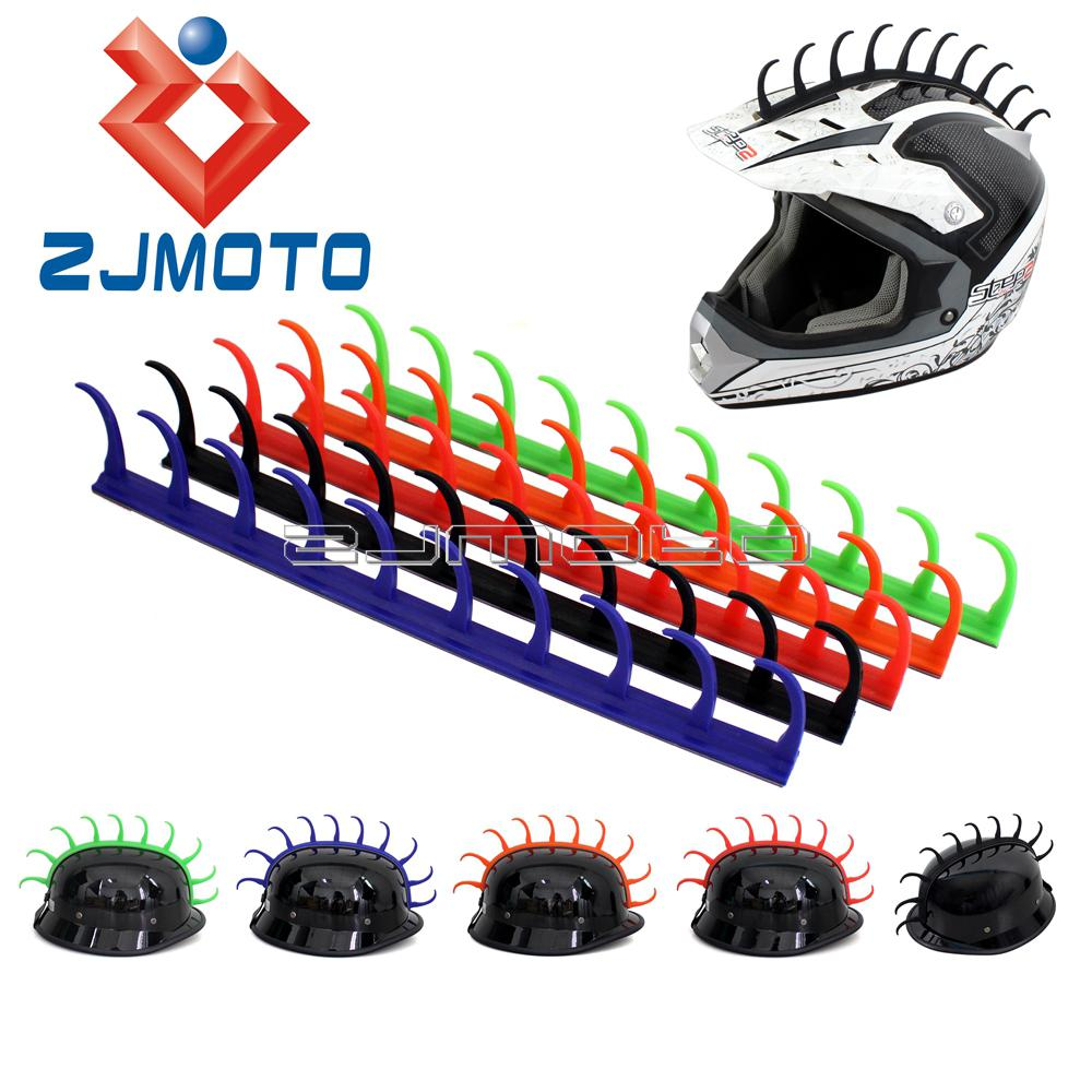 2019 1 x motorcycle racing dirt bike helmet sticker decal mohawk rubber talon mohawk from bestness 35 08 dhgate com