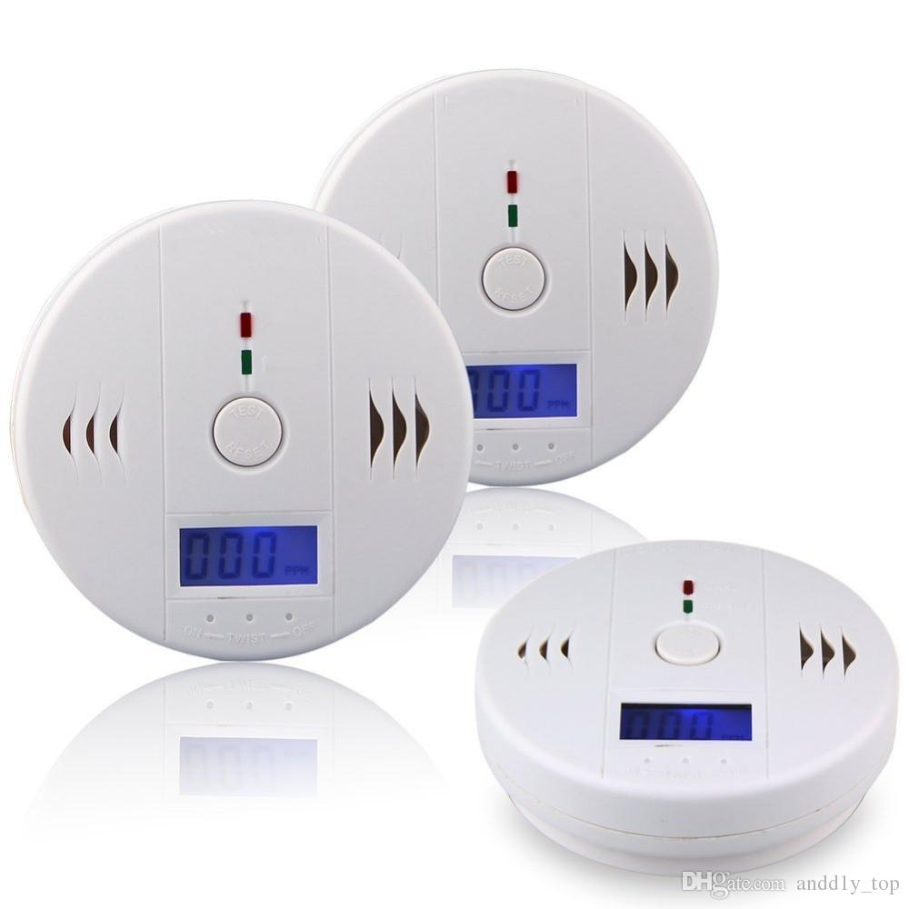CO Carbon Monoxide Gas Sensor Monitor Alarm Poisining Detector Tester For Home Security Surveillance New Arrival