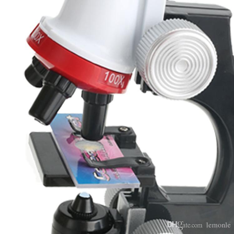 أطفال ستيريو المجهر العلوم 1200x التكبير المجهر البيولوجية كيت المكرر الصكوك العلمية لعبة تعليمية للأطفال