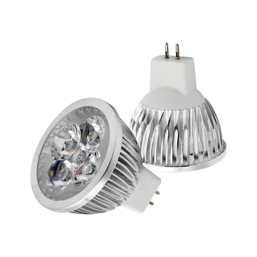 1 pcs Dimmable MR16 LED Ampoule GU5.3 Base 9 W 12 W 15 W Led Lampe AC DC 12 V Lampada Spotlight Downlight Chaud / Froid Blanc