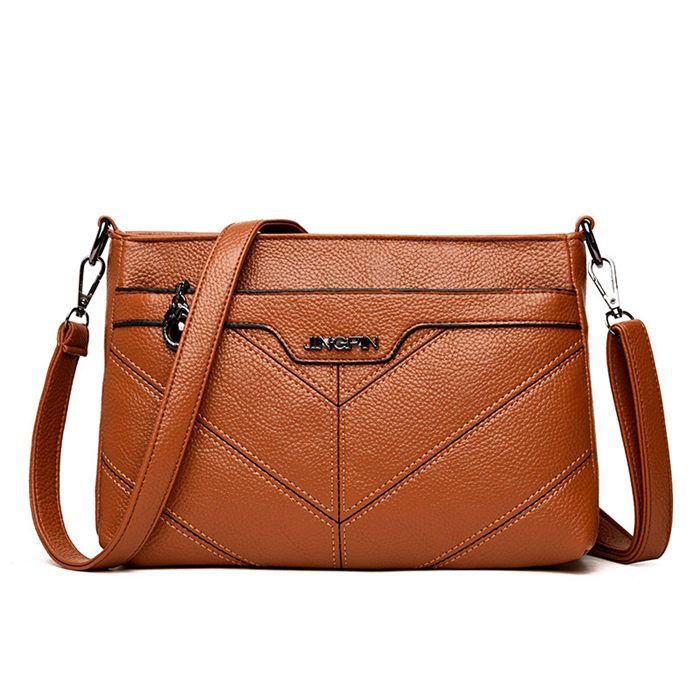 2018 Casual Small Leather Shoulder Bag For Women Black Crossbody Messenger  Bag For Girls 2080 Bags Store Handbag Wholesale Hobo Purses From Xiaokoubag,  ... 9a39f66a12
