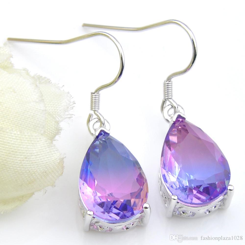925 PLAQUÉ ARGENT RAINBOW MOONSTONE /& autres pierres Boucles d/'oreilles BRAND NEW jewelry