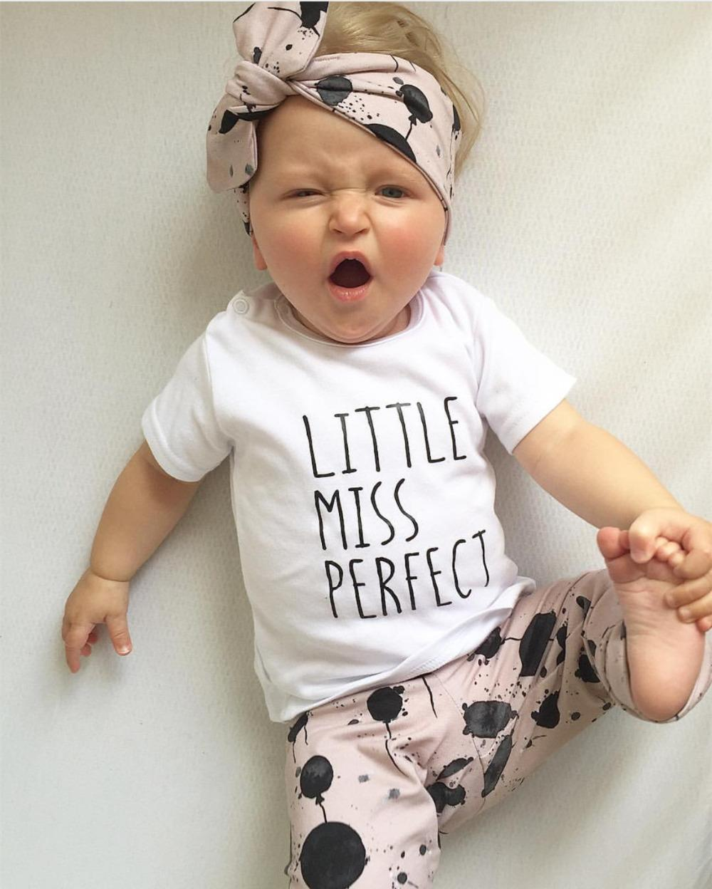 1f544de9e 2019 Baby Girls Clothes Set Long Sleeve Letter T Shirt+Balloon Print  Pants+Headband Infant Newborn Clothing Suit Toddler Outfit Y18100905 From  Shenping02, ...