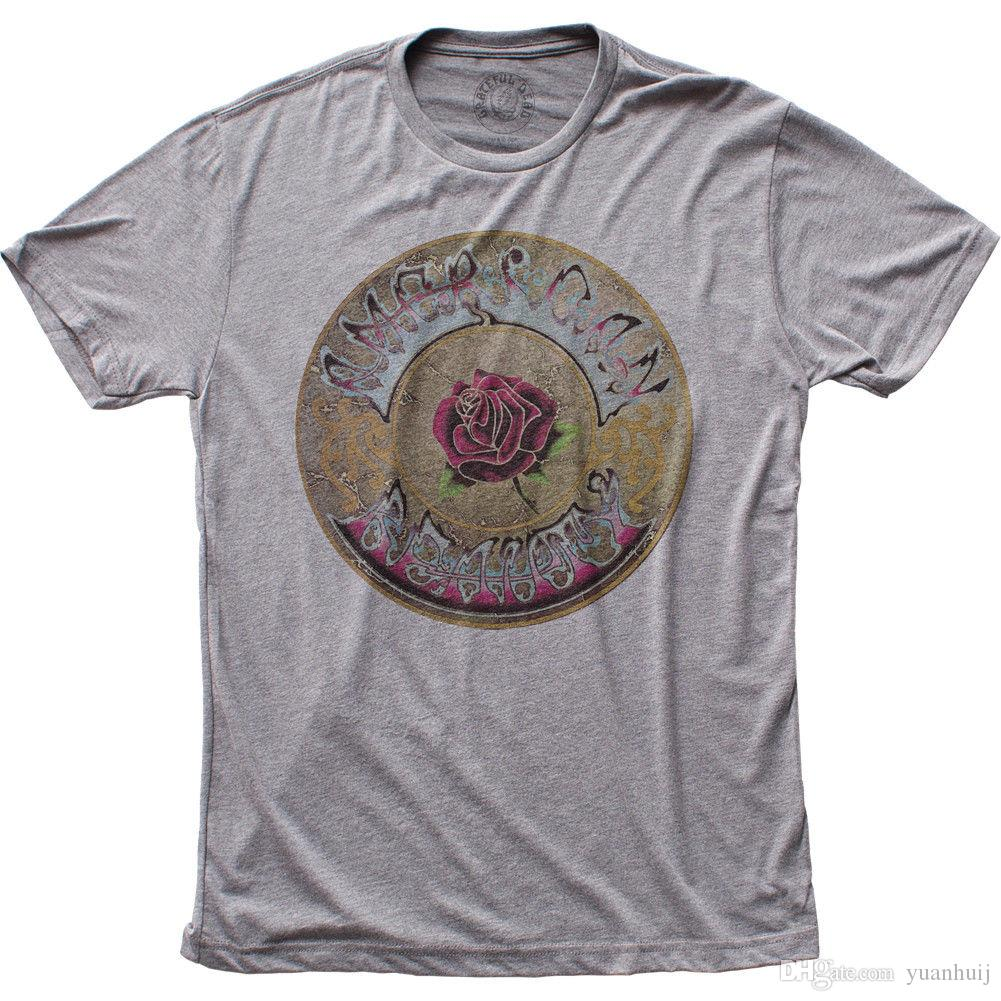 9b025c23 Grateful Dead American Beauty Licensed Adult T Shirt T Shirt Tshirt Men T  Shirt Online with $12.98/Piece on Tee4uever's Store | DHgate.com