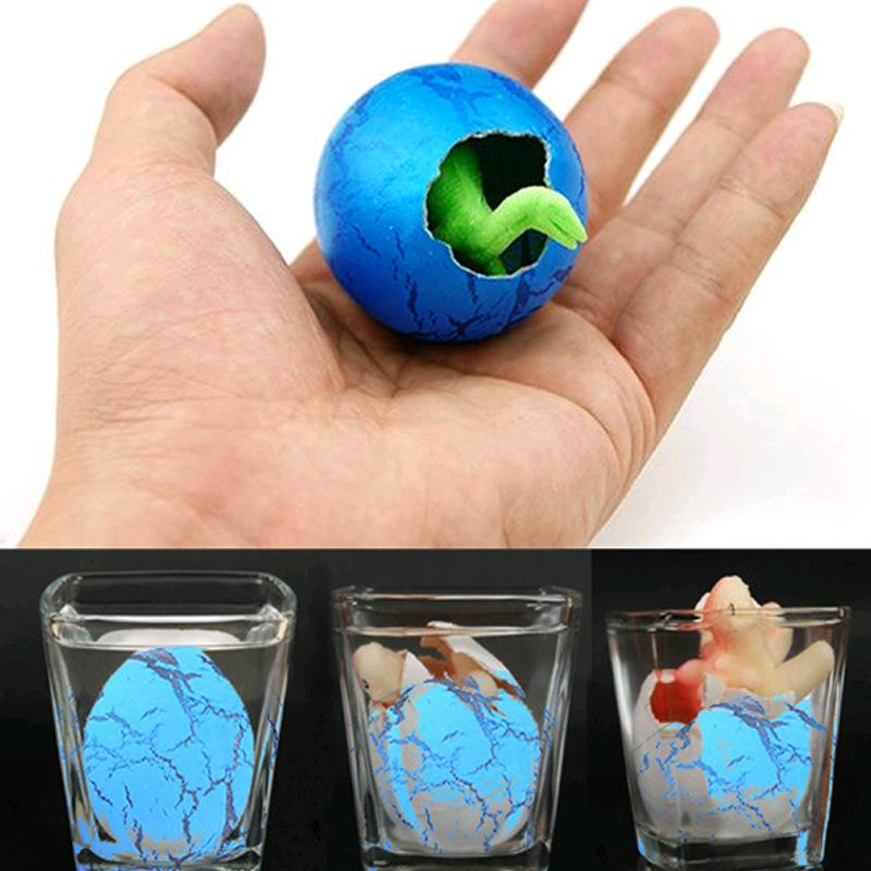 030 Cute Magic Hatching Growing Dinosaur Eggs Novelty Gag Toys For Child Kids Educational Toys Gifts Add Water Growing Dinosaur