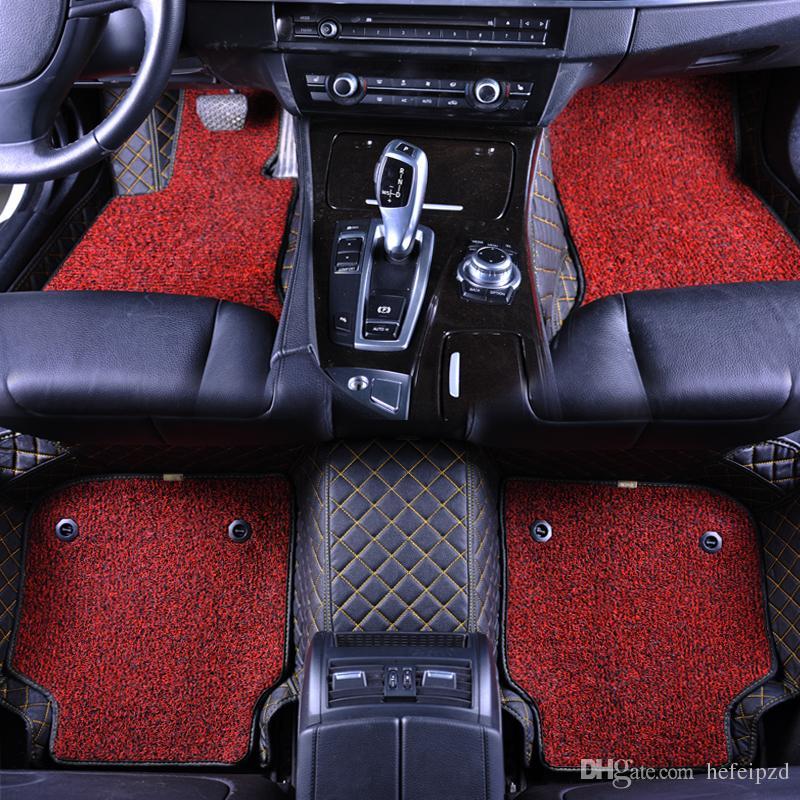2019 Custom Made Double Layer Car Floor Mat Double Deck