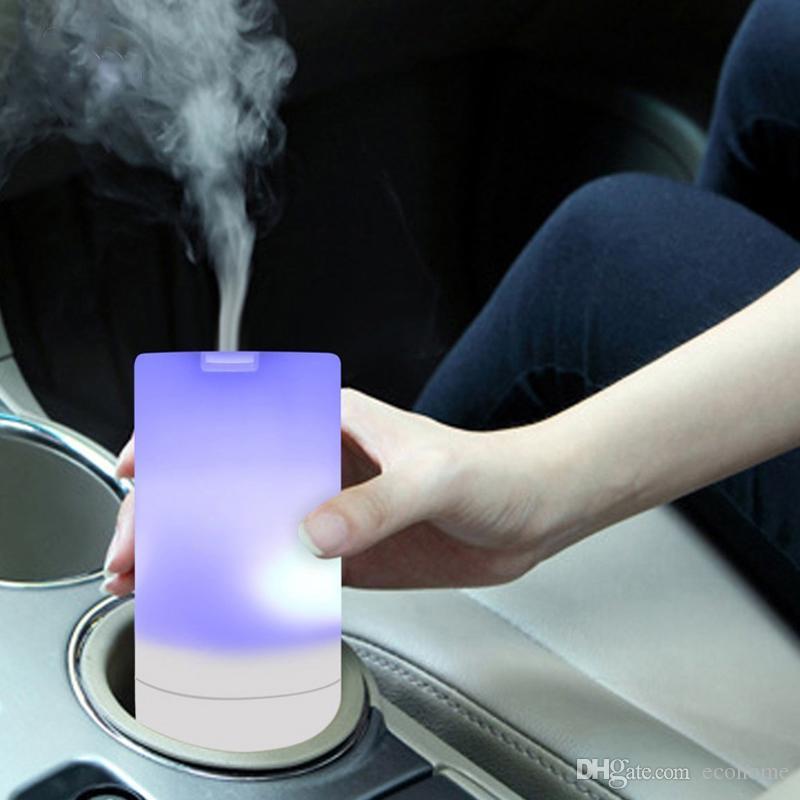 USB Авто Диффузор Эфирное Масло Мини Портативный Ароматерапия Ультразвуковой Увлажнитель Освежитель Воздуха Очиститель для Автомобиля Офиса Путешествия Дома