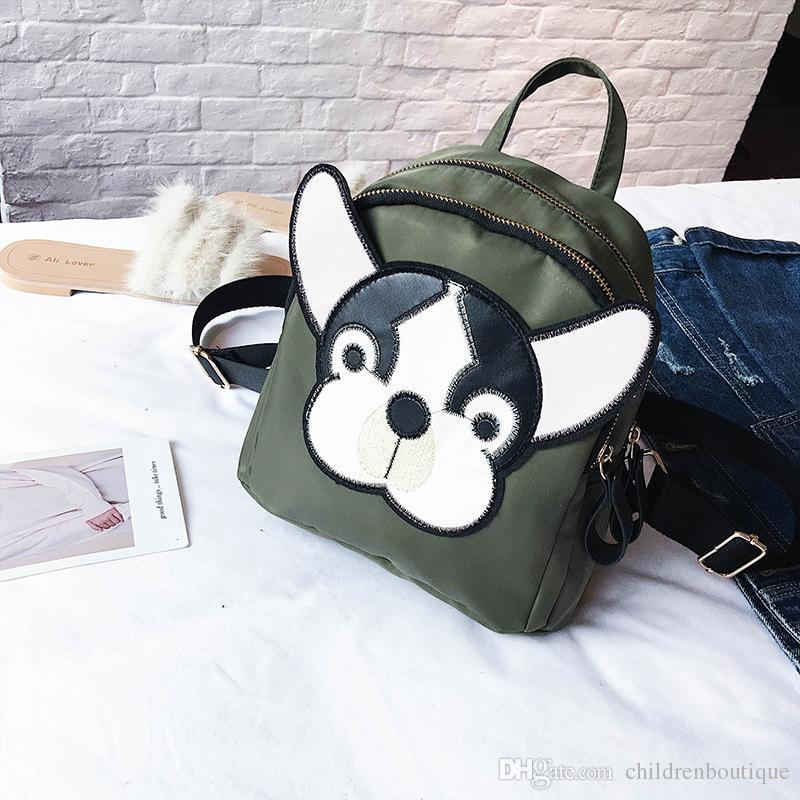 아이 어깨 가방 여자 배낭 어린이 귀여운 강아지 배낭 소녀 인형 완구 유치원 학교 가방 키즈 가방 Mochila