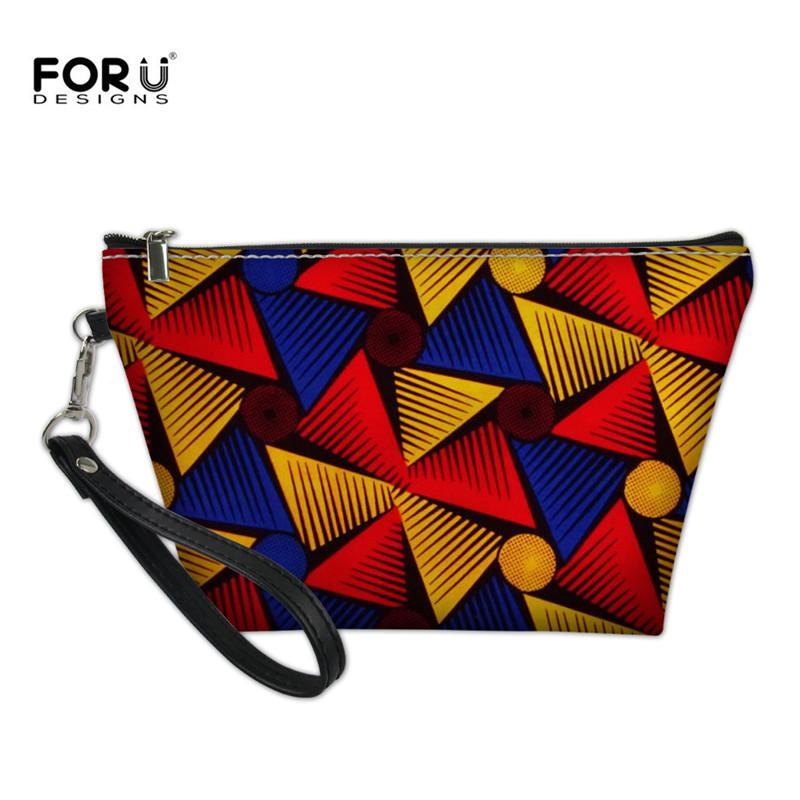 b414851bdb8 2019 Whole Makeup Vanity Bags Women Cosmetic Bag Case Vintage Necessarie  Teenager Girls Tribal Ethnic Organizer