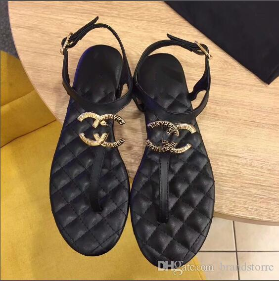 5538b60831933 High Quality Luxury Brand Women s Sandals Exposed Toe Leather Manual ...
