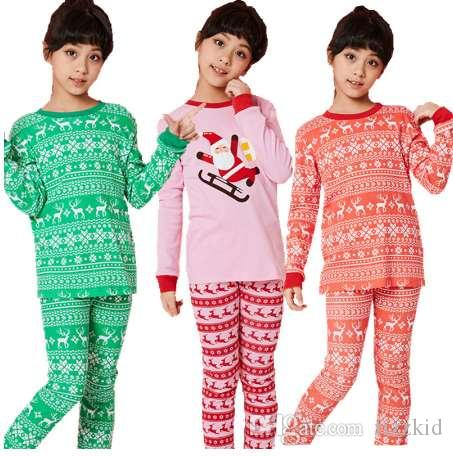 62e75512d47e Kids Pajamas Christmas Boys Sleepwear Girls 100% Cotton Pijama For Toddler  Set Children Winter Clothes Christmas Clothes Toddler Boys Pyjamas Little  Boys ...