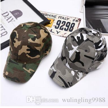 Hot Sale Cotton Curved Camouflage Baseball Caps For Adults Mens ... c76c93c0763d