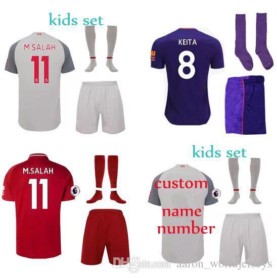 KEITA 8 HENDERSON Youth ORIGI UK Premier League Patch SHAQIR Grey 18 ... 0ed31d3d4