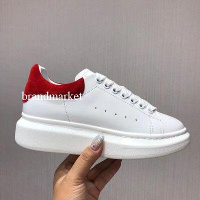 31feae20a5 New Arrival Platform Woman Sneaker White Man Casual Shoes Fashion Mixed  Colors Lace Up Low Cut Colorful Back Designer Shoes Size 35 46 Skechers Shoes  Mens ...