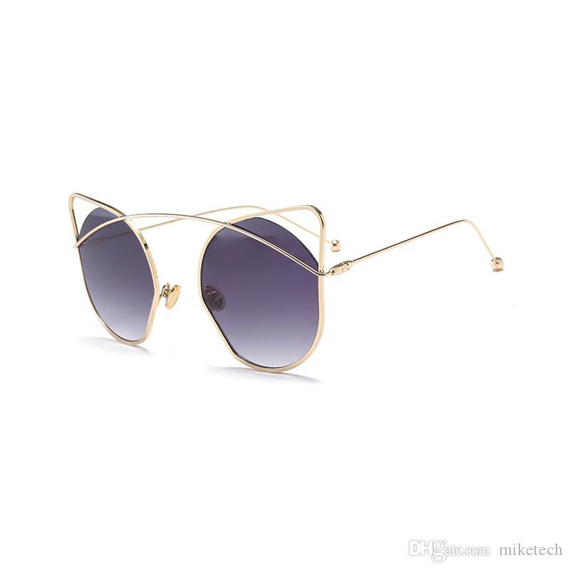 86ed32d38 Compre Luxo Óculos De Sol Das Mulheres Acessórios Olho De Gato Senhoras  Óculos De Marca Designer De Moda Feminina UV400 Óculos Oculos Shades18040DF  De ...