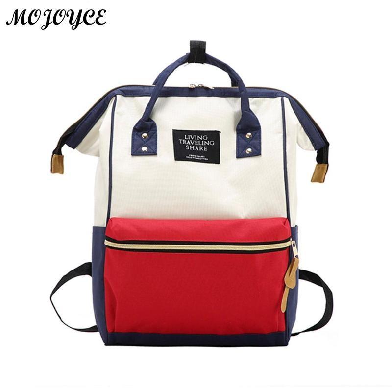 0fb103384131 Stylish Large Capacity Unisex Backpack Travel Backpacks Brand Designer  Nursing Bag For Baby Mom Rucksack Women Carry Care Bags Dakine Backpack  Best Backpack ...