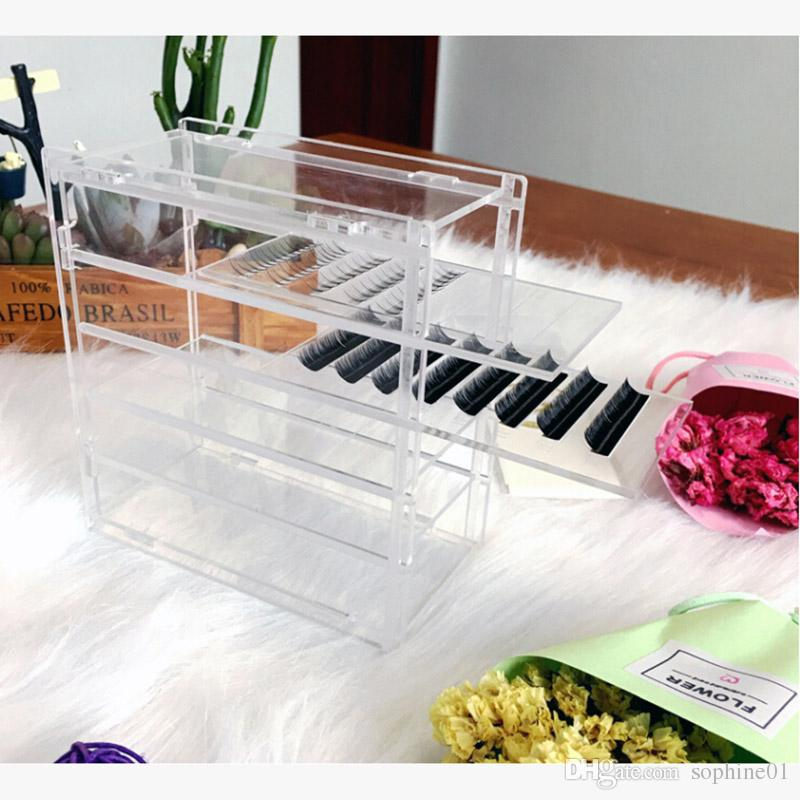 e3c4bbe7208 5 Layers False Eyelash Lash Storage Box Clear Eye Lashes Display Holder  Acrylic Case Eyelash Extension Box Best Eyebrow Pencil Eyebrow Gel From  Sophine01, ...