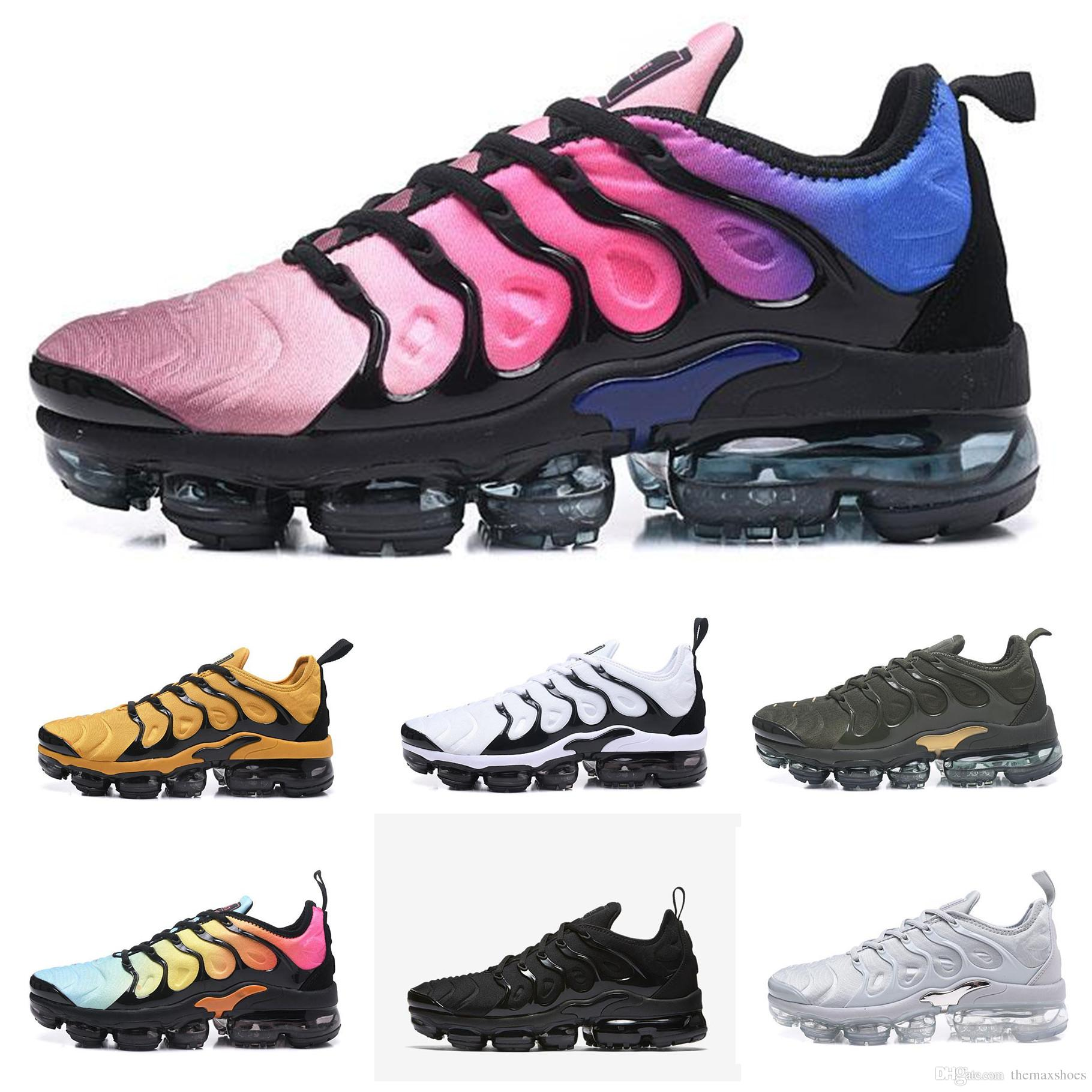 clearance store for sale Vapormax TN Plus VM Airs Shoes Men Running Shoes Metallic Rainbow Athletic Sport Sneakers Fashion Gradient Outdoor West Boost Design Shoes outlet best clearance supply fake cheap online buy cheap low price fee shipping RjWLhE