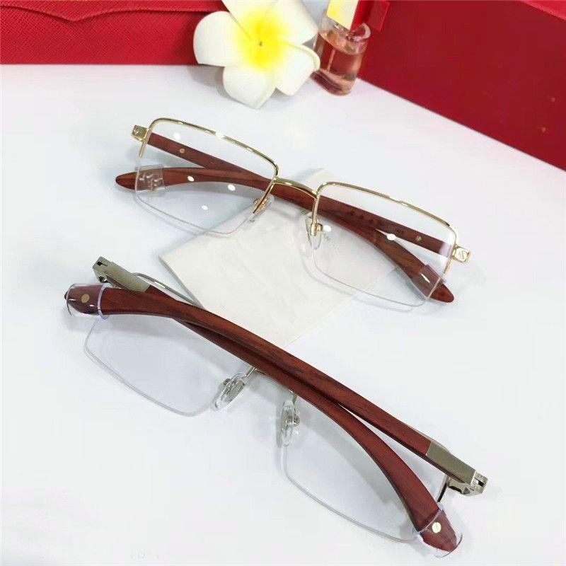 b7da2668af5d Wholesale New Fashion Designer Optical Glasses 8101025 Retro Metal ...