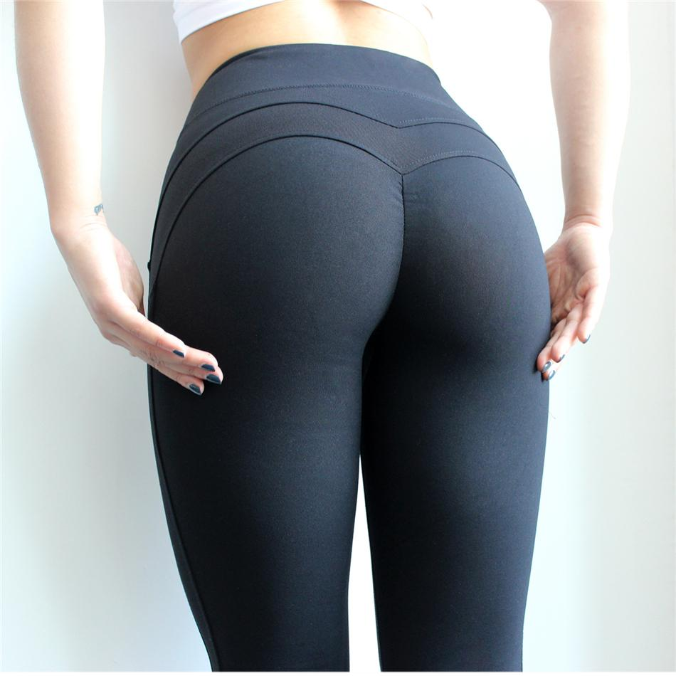 a2bb64552cf98 2019 New Female Leggins Sport Women Booty Seamless Leggings For Fitness High  Waist Yoga Pants Woman Gym Tights Sports Yoga Leggings From Fwuyun, ...