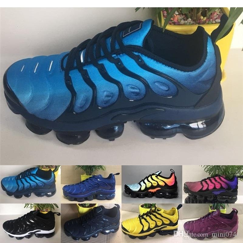 premium selection e2ce1 4f5e7 Acheter Nike Air Max Vapormax TN Plus Olive Hommes Sports Chaussures Casual  Sneakers Hommes Run Plus Métallique Blanc Argent Colorways TN Mâle Pack De  ...