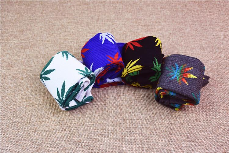 القيقب الجوارب plantlife للرجال النساء 33 ألوان عالية الجودة الركبة عالية الجوارب القطنية سكيت hiphop الأوسط أنبوب الرياضية مابل ليف الجوارب