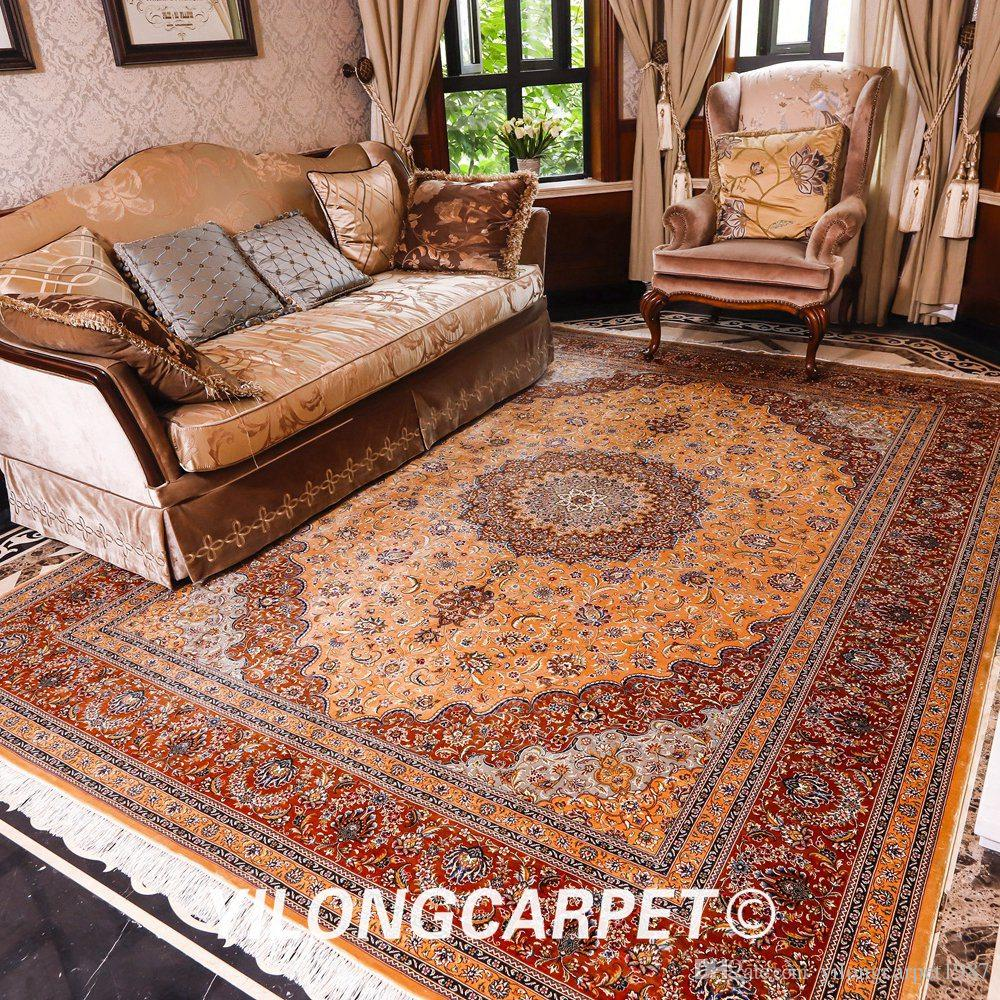 YILONG 8'X10' Classical Persian Pattern Luxury Royal