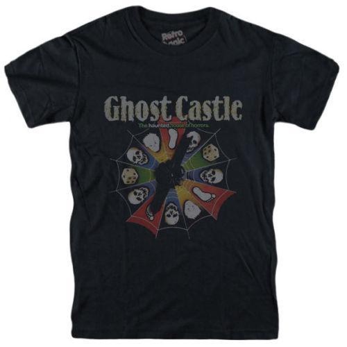 GHOST CASTLE Brivido MB board game Haunted Castle spookslot 80 sMens 2018  fashion Brand O-Neck 100%cotton Tops Tee custom