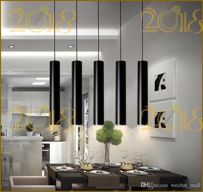 Großhandel 5 Watt Rohr Pendelleuchte Zylinder Lichter Spot Lights Gerade  Droplight Downlight Für Esszimmer Wohnzimmer Shop Dekoration Küche Von  Wechat_mall, ...