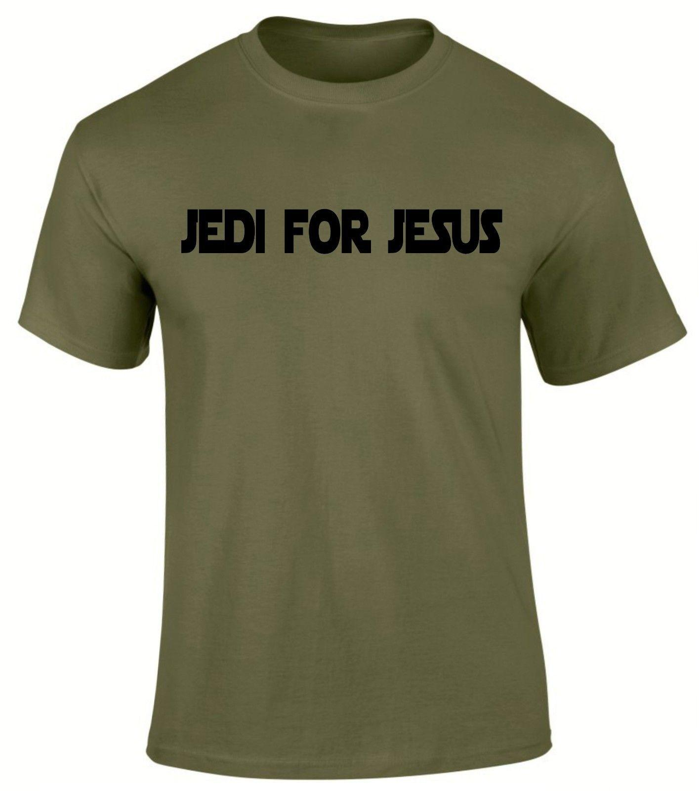 Jedi for Jesus Christian Gospel Church Scriptures Camiseta hombre