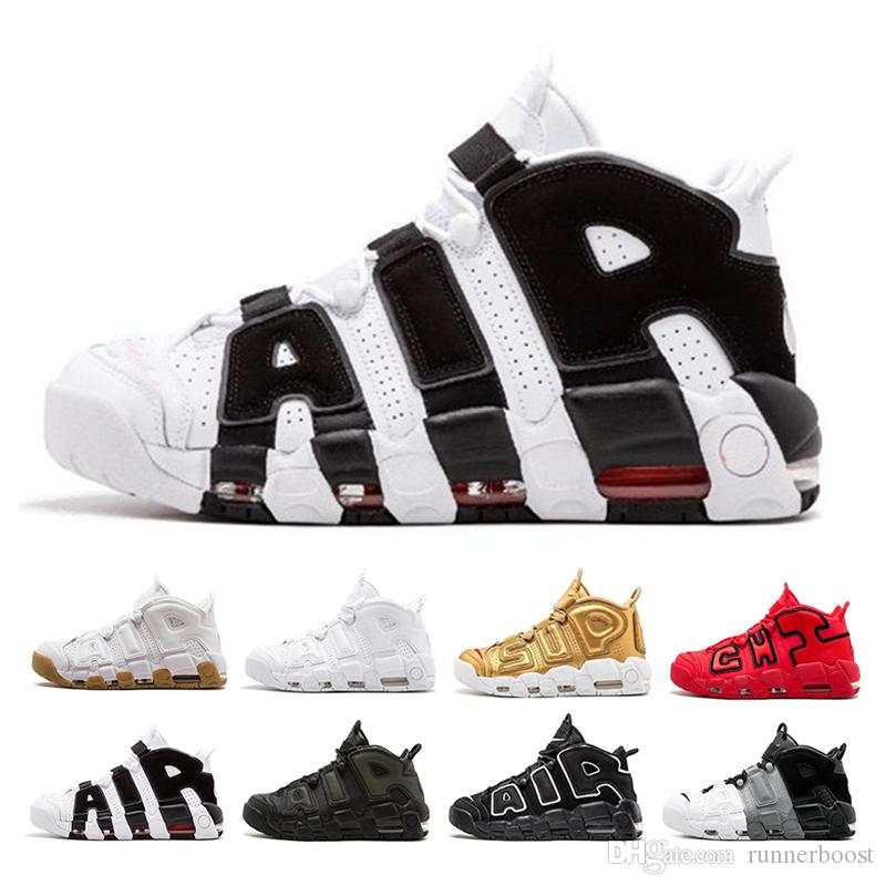 2fc22240a1b Uptempo 96 QS Mens Basketball Shoes For Olympic Varsity Maroon 3M Scottie  Pippen Uptempos Sports Shoes Sneakers Size 40 46 Sneakers Jordans From  Runnerboost ...