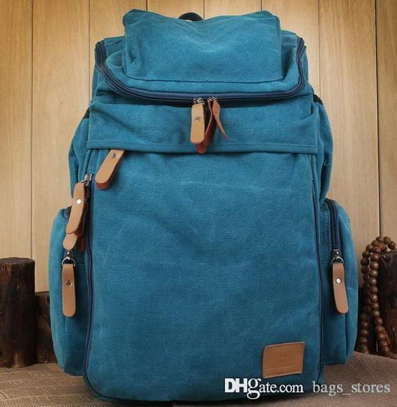 2fed1a5752ce Fashion Classic Backpack Men Vintage Bag Luxury Back Pack New ...