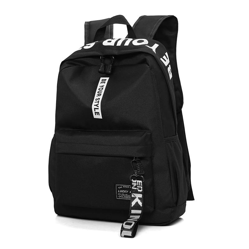 7164e140df New Design Men S Nylon BackpacMale Casual Travel Fashion Women Teenagers  Student School Bags Simple NotLaptop Backpack Rucksack Backpack Boys  Backpacks From ...