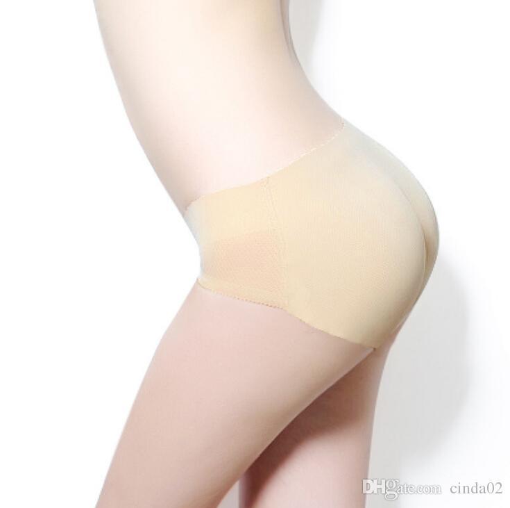 Hot New Mulheres Sexy Shapewear nádega acolchoado Underwear Seamless Bum Butt Lift Calcinhas Enhancer Breves