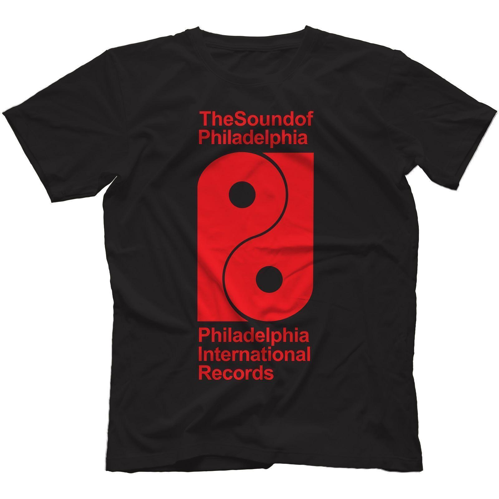 Philadelphia International Records camiseta 100% algodón Disco Tsop Soul Philly Funny Tops Tee Nuevo Unisex Funny Top Envío gratis