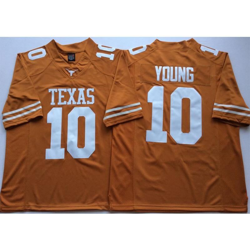 outlet store 02980 a853f Mens Texas Texas Longhorns Vince Young Stitched Name&Number American  College Football Jersey Size S-3XL
