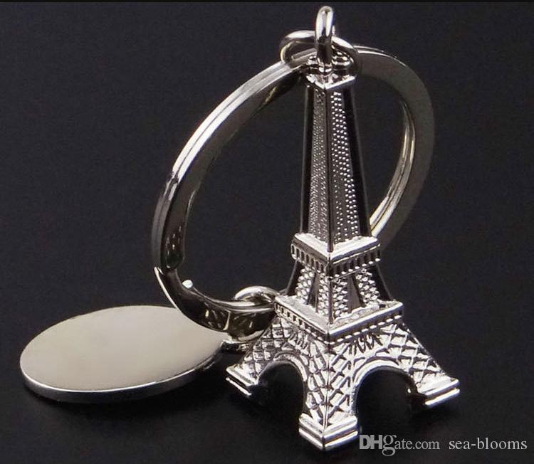 الفضة برج ايفل المفاتيح للمفاتيح التذكارية باريس تور ايفل المفاتيح مفتاح سلسلة حلقة رئيسية الديكور هدية مجانية dhl D522L